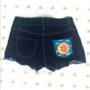 Dragon Ball Shorts | Acrylic Handmade Art